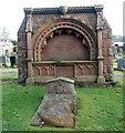 NJ8007 : McCombie of Easter Skene memorial, Kirkton of Skene by Bill Harrison