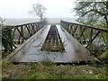 TF3902 : Bridge over Morton's Leam near Guyhirn - The Nene Washes by Richard Humphrey