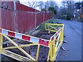 SU5749 : Replacing the bench on Hill Road by Given Up