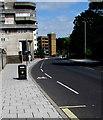 SU4112 : Blechynden Terrace cycle lane, Southampton by Jaggery