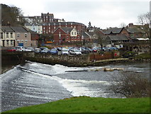 SX9192 : The weir by the Mill on the Exe by Chris Allen
