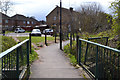 SP3576 : Footpath to Southport Close, Willenhall, southeast Coventry by Robin Stott