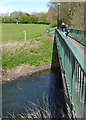 SP3576 : Footpath to London Road from Southport Close, Willenhall, southeast Coventry by Robin Stott