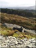 SH6443 : Hafod Uchaf Slate Mine by Chris Andrews