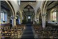 SK9227 : Interior, Ss Andrew & Mary church, Stoke Rochford by J.Hannan-Briggs