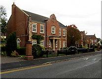 SJ6652 : Marlow House, Nantwich by Jaggery