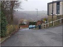 SE0511 : Woods Avenue - looking towards Meltham Road by Betty Longbottom