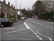 SE0511 : Manchester Road - viewed from Meltham Road by Betty Longbottom