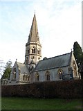 TQ1450 : St Barnabas, Ranmore Common: early January 2017 by Basher Eyre
