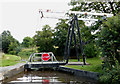 SJ5241 : Lift Bridge west of Whitchurch, Shropshire by Roger  Kidd