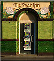 "SZ0190 : Entrance, former ""The Swan Inn"", Poole by Julian Osley"