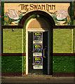 "SZ0190 : Entrance, former ""The Swan Inn"", Poole by Jim Osley"