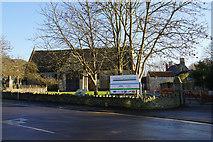 ST5038 : Glastonbury Abbey Barn by Bill Boaden