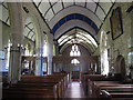 SX8186 : Interior of St Thomas, Bridford by Stephen Craven