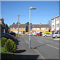 SP2965 : LED street lighting, Kemp Close, southeast Warwick by Robin Stott