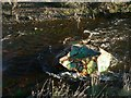 NZ1099 : Abstract sculpture in the River Coquet by Alan Murray-Rust