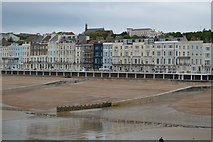 TQ8109 : West of Hastings Pier by N Chadwick