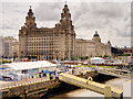 "SJ3390 : Liverpool Cruise Liner Terminal and ""The Three Graces"" by David Dixon"