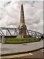 SJ3390 : The Titanic Memorial, Liverpool Pier Head by David Dixon