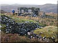 SH6329 : Ruined Smithy, Cwm-yr-Afon Manganese Mine by Chris Andrews