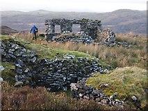 SH6329 : Ruined Smithy, Cwm-yr-Afon Manganese Mine by Chris Andrews