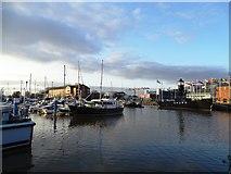 TA0928 : Hull Marina by Matthew Chadwick