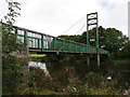 SX8061 : Cable-stay footbridge over the river Dart at Totnes by Stephen Craven