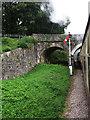 SX7763 : Signal by Riverford Bridge by Stephen Craven