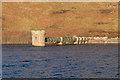 NN9304 : Water intake tower at Lower Glendevon Reservoir by Doug Lee