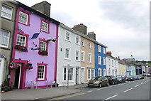 SN4562 : Coloured Houses of West Wales (16) by Nigel Mykura