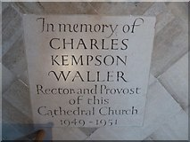 TL7006 : Chelmsford Cathedral: memorial (7) by Basher Eyre