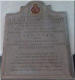 TL7006 : Chelmsford Cathedral: memorial (26) by Basher Eyre