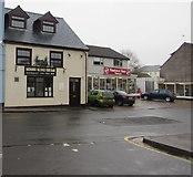 SO5012 : Monnow Bridge Fish Bar, Monmouth by Jaggery