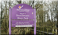 J2890 : Sixmilewater Park sign, Ballyclare (January 2016) by Albert Bridge