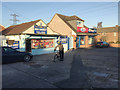 SP3776 : St James' Lane Mini Market, Hello! Chicken and Happy Cod, Willenhall, southeast Coventry by Robin Stott