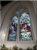 TQ2255 : St Peter, Walton-on-the Hill: stained glass window (VIII) by Basher Eyre