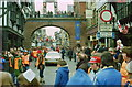 SJ4066 : Lombard RAC Rally at Chester, November 1979 by Jeff Buck
