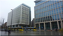 SJ8397 : St. Peter's Square, Manchester by Richard Cooke