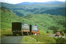 NY2213 : Descending Honister Pass by John Carter