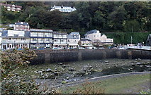 SS7249 : South side of Riverside Road, Lynmouth by Jaggery