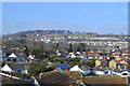 SX9373 : Looking north across Hawkins Drive, Teignmouth by Robin Stott