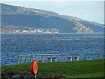 NS3175 : The Firth of Clyde at Port Glasgow by Thomas Nugent