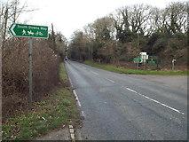 TQ2912 : A273 Clayton Hill, near Pyecombe by Malc McDonald