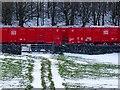 SK1067 : Step stile at a railway foot crossing by Ian Calderwood