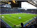 TQ2577 : Pre kick off at Stamford Bridge - Chelsea v Peterborough United by Richard Humphrey
