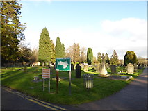 TQ3355 : Caterham Cemetery: early January 2017 (a) by Basher Eyre