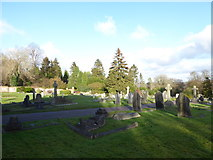 TQ3355 : Caterham Cemetery: early January 2017 (f) by Basher Eyre