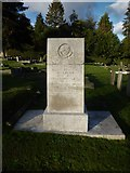 TQ3355 : Caterham Cemetery: a school master's grave by Basher Eyre