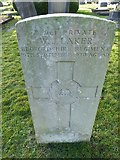 TQ3355 : Caterham Cemetery:CWGC grave (v) by Basher Eyre
