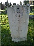 TQ3355 : Caterham Cemetery:CWGC grave (vii) by Basher Eyre